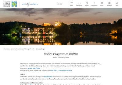 Kloster Seeon, Kultur- und Bildungszentrum des Bezirks Oberbayern