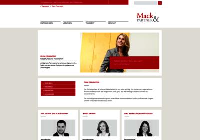 Mack & Partner PartG mbB Steuerberatungsgesellschaft, Traunstein