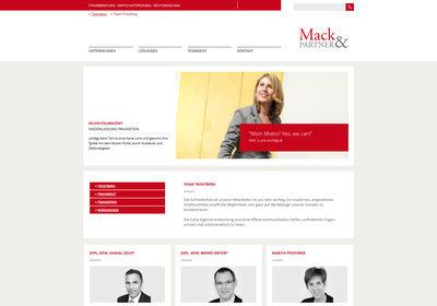 Mack & Partner PartG mbB Steuerberatungsgesellschaft, Trostberg