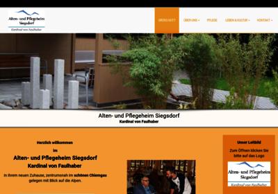 Alten- und Pflegeheim Siegsdorf Betreibergesellschaft mbH