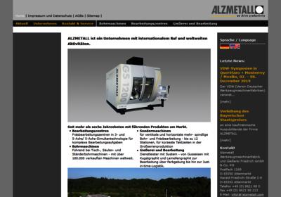 Alzmetall Werkzeugmaschinenfabrik und Gießerei Friedrich GmbH & Co. KG